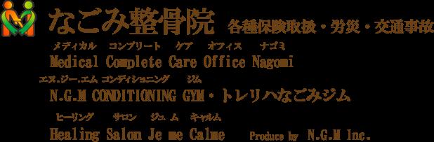 なごみ整骨院・静岡県浜松市/むち打ち・肩こり・頭痛・腰痛・膝痛・交通事故・等の治療